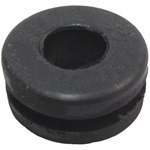 Convertible rail grommet
