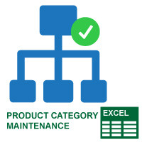 Product Category Maintenance