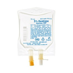 Dextrose IV Solution 5%, 50mL