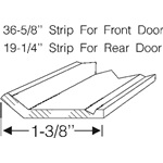 Door weatherstrip