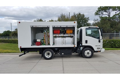Spray Trucks for Lawn & Tree Care