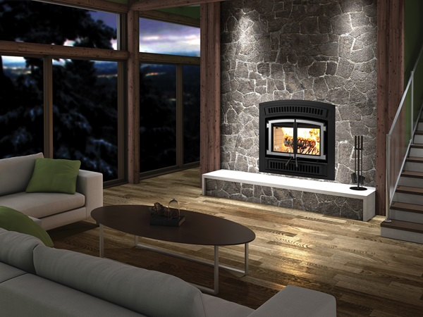 VENTIS® ZERO CLEARANCE WOOD FIREPLACE HE200