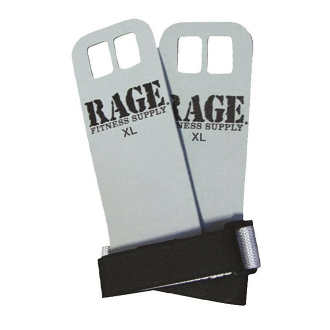 RAGE LEATHER HAND GRIPS
