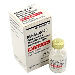Kenalog-40 Injectable 200mg, 5mL