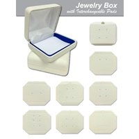 Jewelry Box with Interchangeable Pads