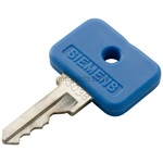 KEY,BLUE OMR 22MM OPERATOR