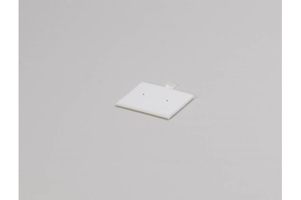 CENTER PUNCHED EARRING PAD   T12 TRAY