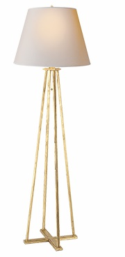 Floor Lamp with Natural Paper Shade