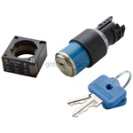 Key Switch-22 MM, 2 Position Key Select Operator