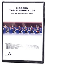 Modern Table Tennis 102 DVD