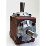 Curtis Old Style Right Angle Gear Box 1:1 Ratio - Red