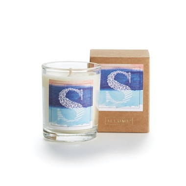 Monogram S Boxed Votive