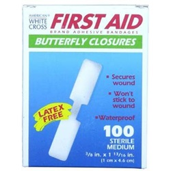 waterproof First aid butterfly skin closure strip