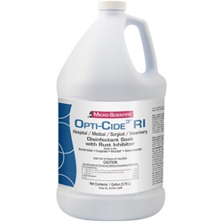 Instrument Disinfectant - Opti-Cide3 RI, 1 Gallon Jug