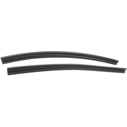 Side roof rail weatherstrip