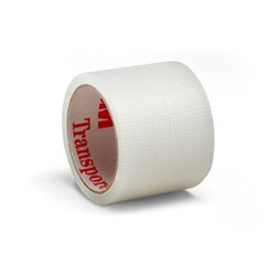 Transpore (Plastic) Tape - 1 Inch x 1.5 Yards, 3M