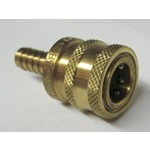 "Brass 3/8"" Socket x 3/8"" Hose Barb"