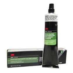 3M Super Weatherstrip Adhesive Black