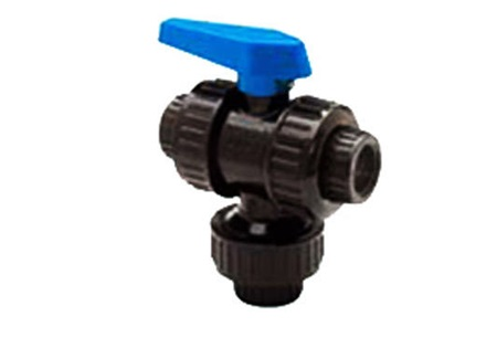 "3/4"" 3-Way Union Ball Valve"