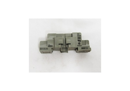 1 Pole Din Rail Mount 5 Blade Relay Socket