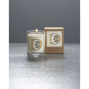 Monogram D Boxed Votive