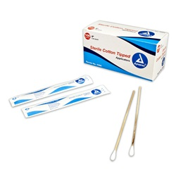 Cotton Tipped Applicators - Dynarex Sterile 6""