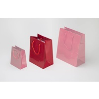 RED SHOPPING BAG MEDIUM