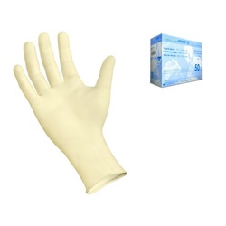 Sempermed Supreme ivory latex Surgical Gloves