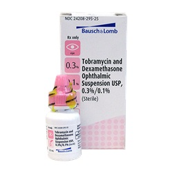 Tobramycin/Dexamethasone Drops 0.3%-0.1%, 2.5mL