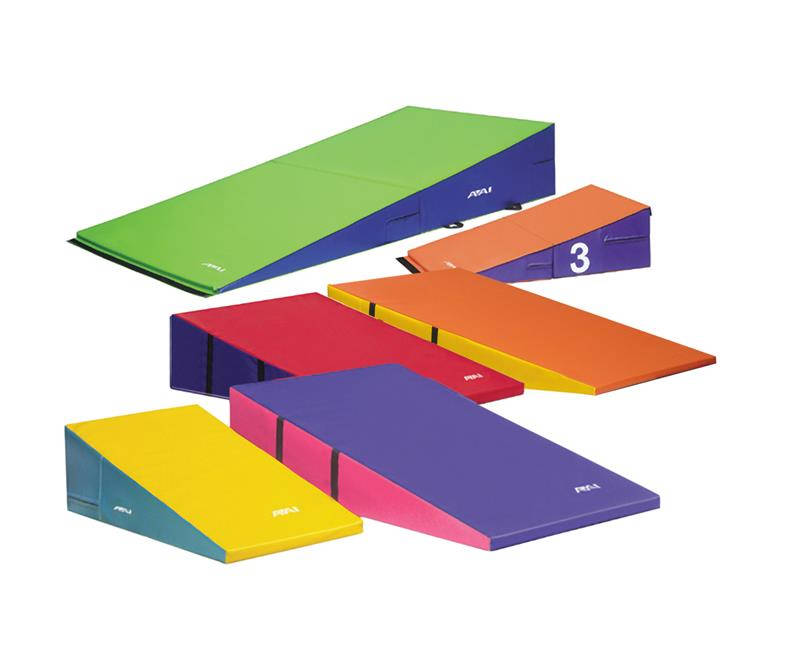 floor gymnastics four gymnastic wedge cube asp fold p mat mats and package incline