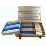 Metal Microsurgical Instrument Sterilization Tray