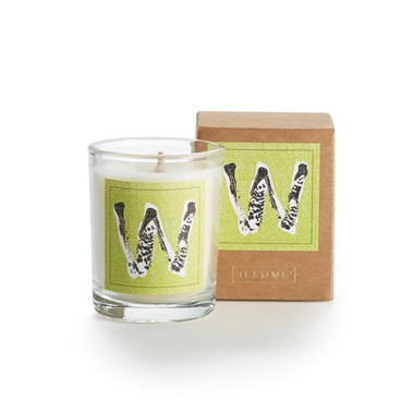 Monogram W Boxed Votive