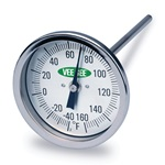 Super Long Stem Dial Thermometer