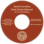 NC Real Estate Manual CD-ROM (2015-2016 edition)