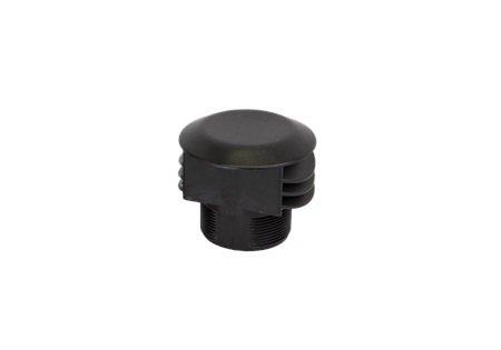 "2"" MNPT Anti Vortex Vent Cap With Screen Tank Fitting - Poly"