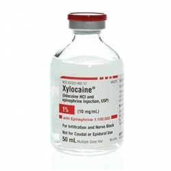 Xylocaine With Epinephrine Injectable 1%, 50mL