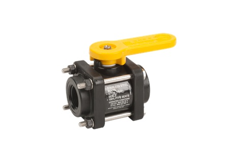 "3/4"" x 3/4"" Banjo Full Port Ball Valve - 4 Bolt"