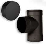 VENTIS™ SINGLE WALL BLACK WALL TEE AND DAMPERS