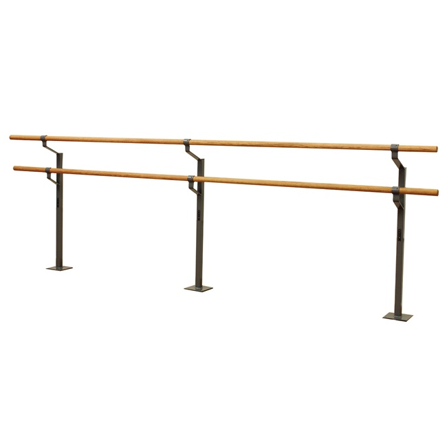 Gibson Floor-Mounted Non-Adjustable Double Ballet Barre