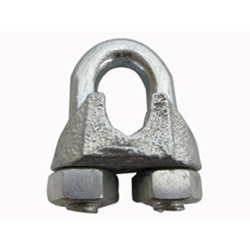 "1/4"" Galvinized Cable Clamp"