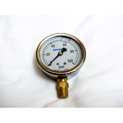 0-100 PSI Glycerin Filled Gauge