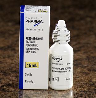 Falcon suspension ophthalmic usp pharmaceuticals acetate prednisolone