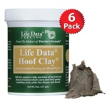 10 Oz Jars - 6 Pack Case - Life Data ® Hoof Clay®