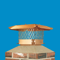 HY-C Copper Single-Flue Cap