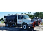 Custom Roadside Spray Trucks | Single & Dual Long Reach Boom Options