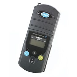 Digital Pocket Colorimeter™ II Analysis Systems for Chlorine or Ozone (Hach)