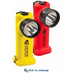 Streamlight Survivor Flashlight in yellow and Orange