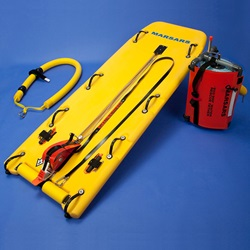 MARSARS Ice Rescue Sled Kit with reel and sling