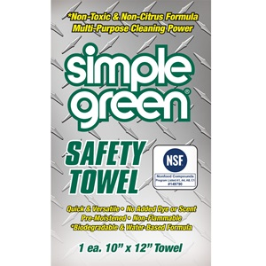 Simple Green® Safety Towels – Individually Wrapped – 1 Towel
