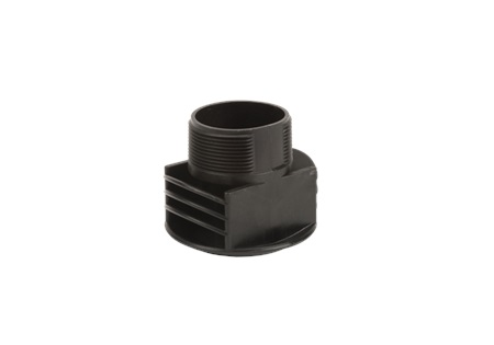 "2"" MNPT Anti Vortex Vent Cap W/O Screen Tank Fitting - Poly"